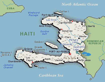 Degaje And Other Lessons From Haiti SamRainercom - Map of us and haiti